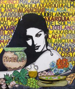 cartel fiesta ajoblanco