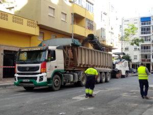 comienzo obras plan de asfalto