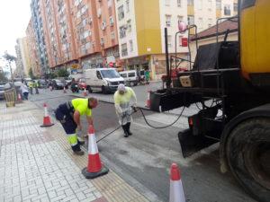 Obras Plan de Asfalto en Distrito 7
