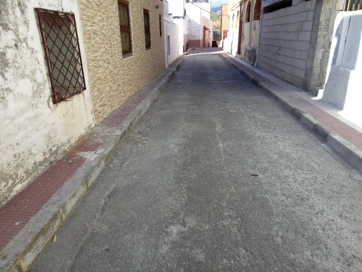 Estado del pavimento antes de intervención, Ceuta