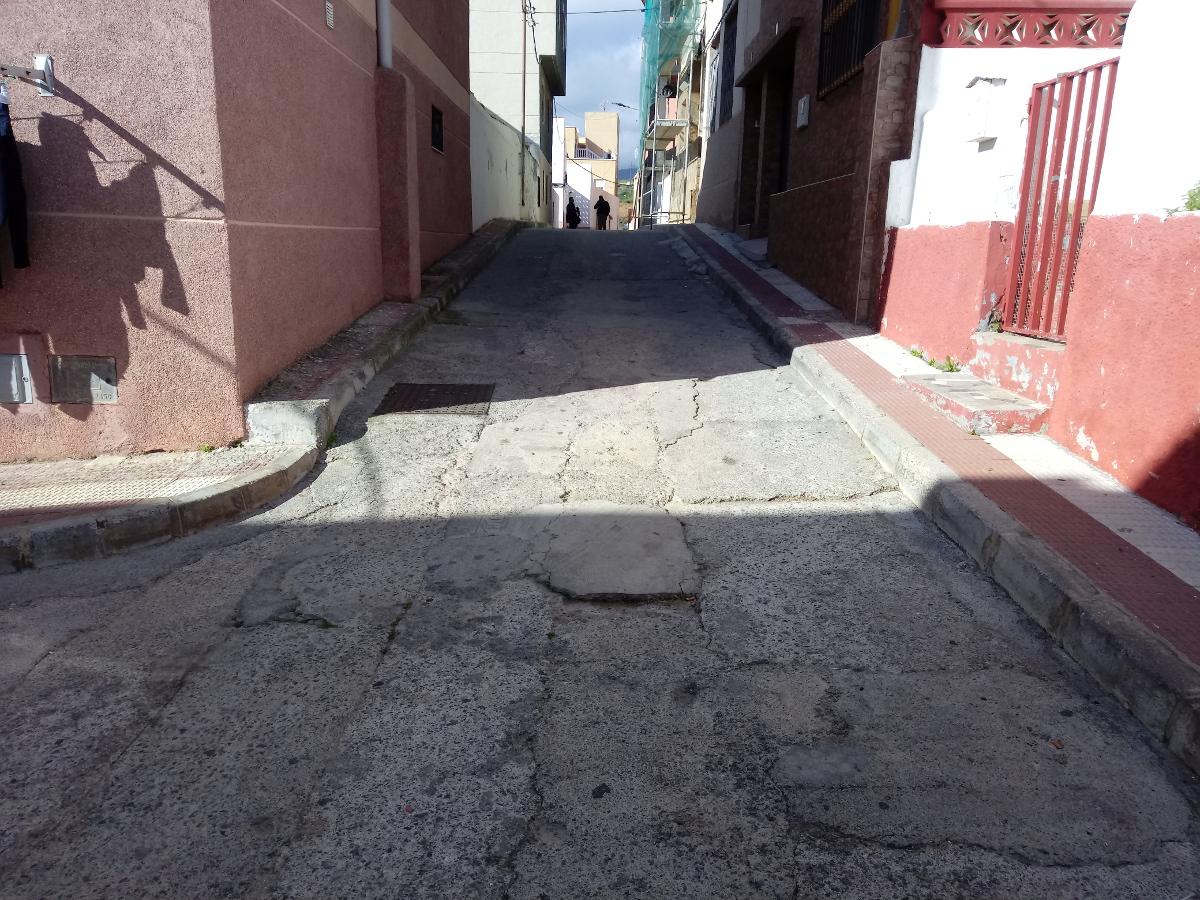 Estado inicial calle 12 Octubre, Ceuta