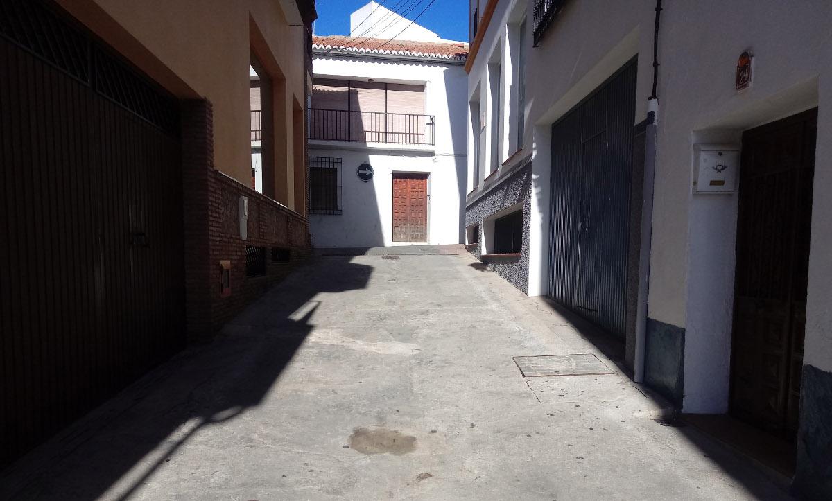 Obras urbanización Periana